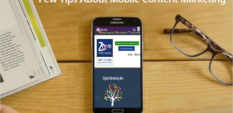 Content Marketing for Mobile A Fruitful Guide